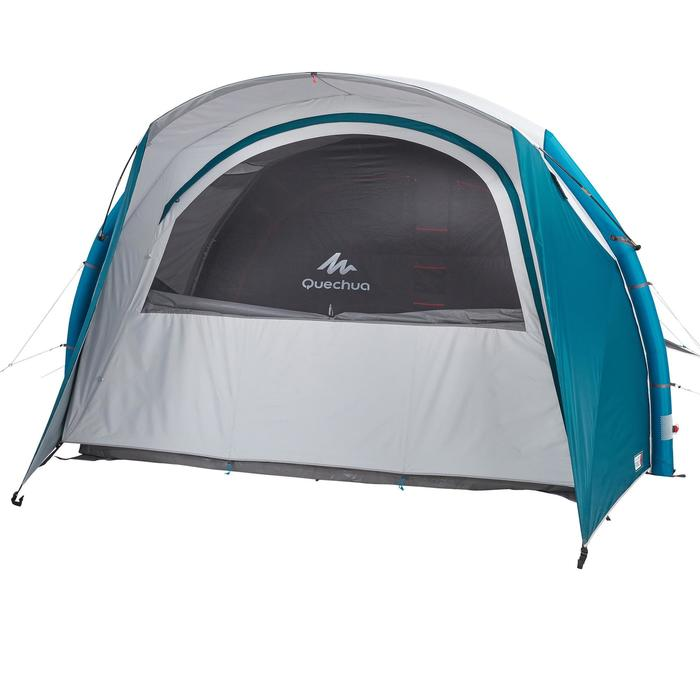 Tente de camping familiale Air seconds family 5.2 XL Fresh & Black I 5 personnes
