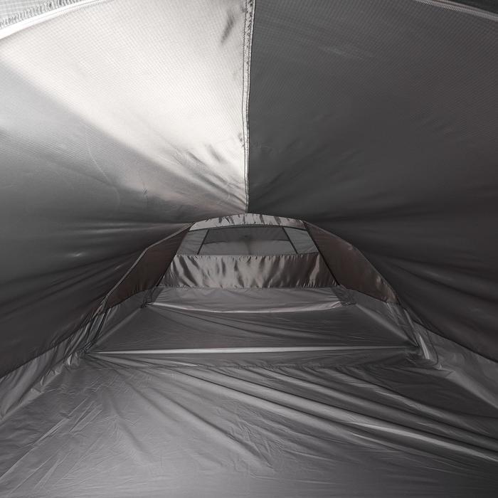 Tente de trek Quickhiker Ultralight 3 personnes gris clair - 1259915