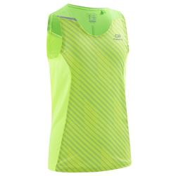KIPRUN CHILDREN'S ATHLETICS TANK TOP FLUO YELLOW