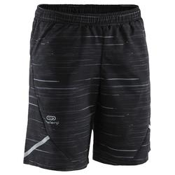 Baggy short Run Dry print zwart grijs