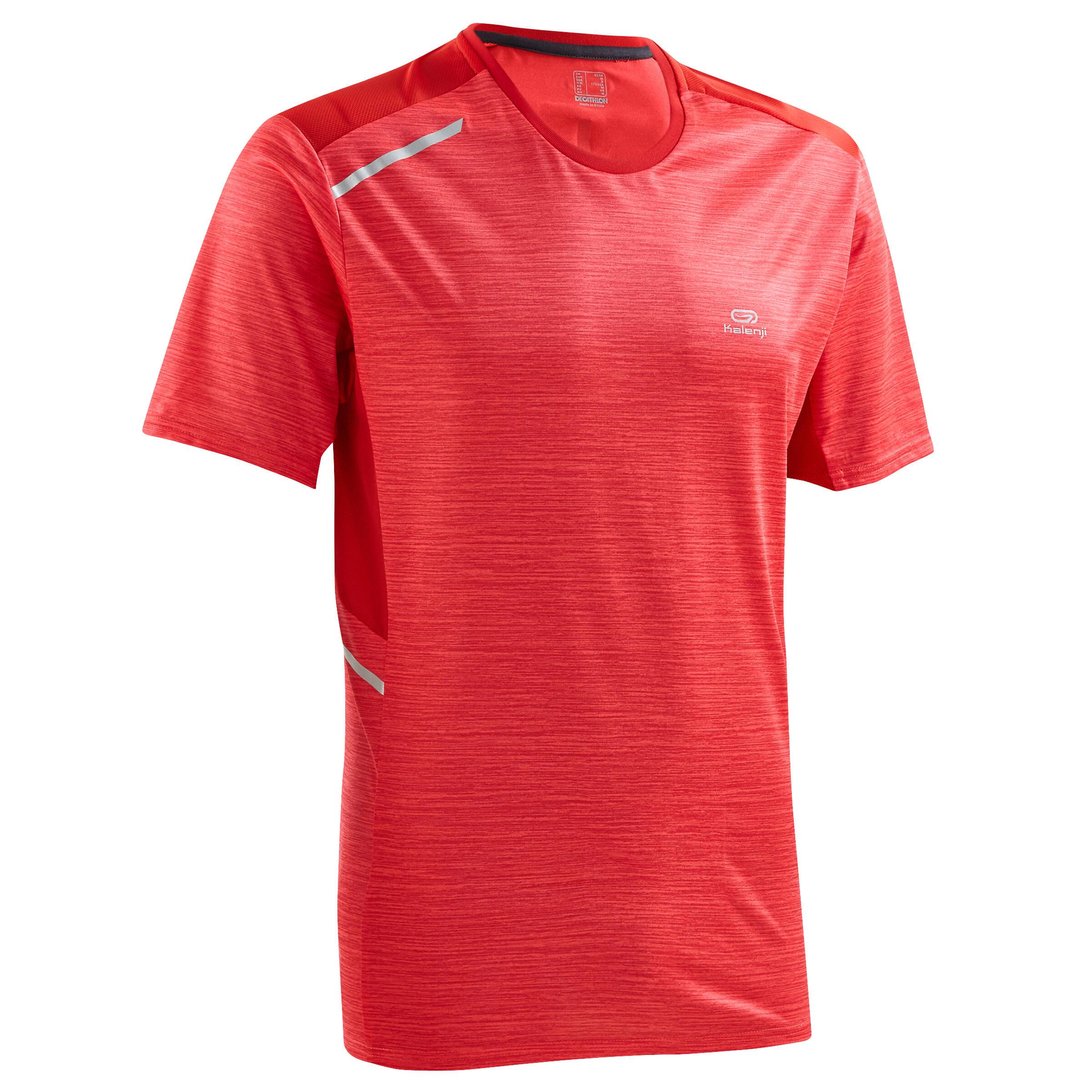 Kalenji T-shirt hardlopers Run Dry+ rood