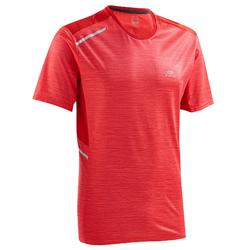 TEE SHIRT RUNNING HOMME RUN DRY + ROUGE