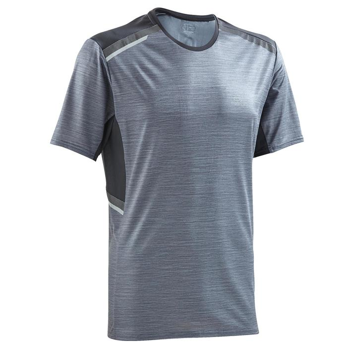 T-shirt Running heren Run Dry+ N grijs