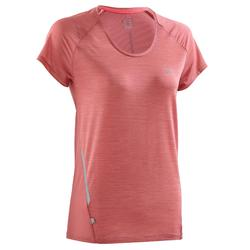SS T-SHIRT RUN LIGHT BAROQUE WOMEN'S RUNNING T-SHIRT - PINK