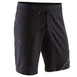 RUN DRY + MEN'S RUNNING SHORTS - BLACK