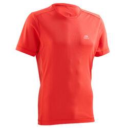 Camiseta Manga Corta Running Kalenji Run DRY Hombre Rojo