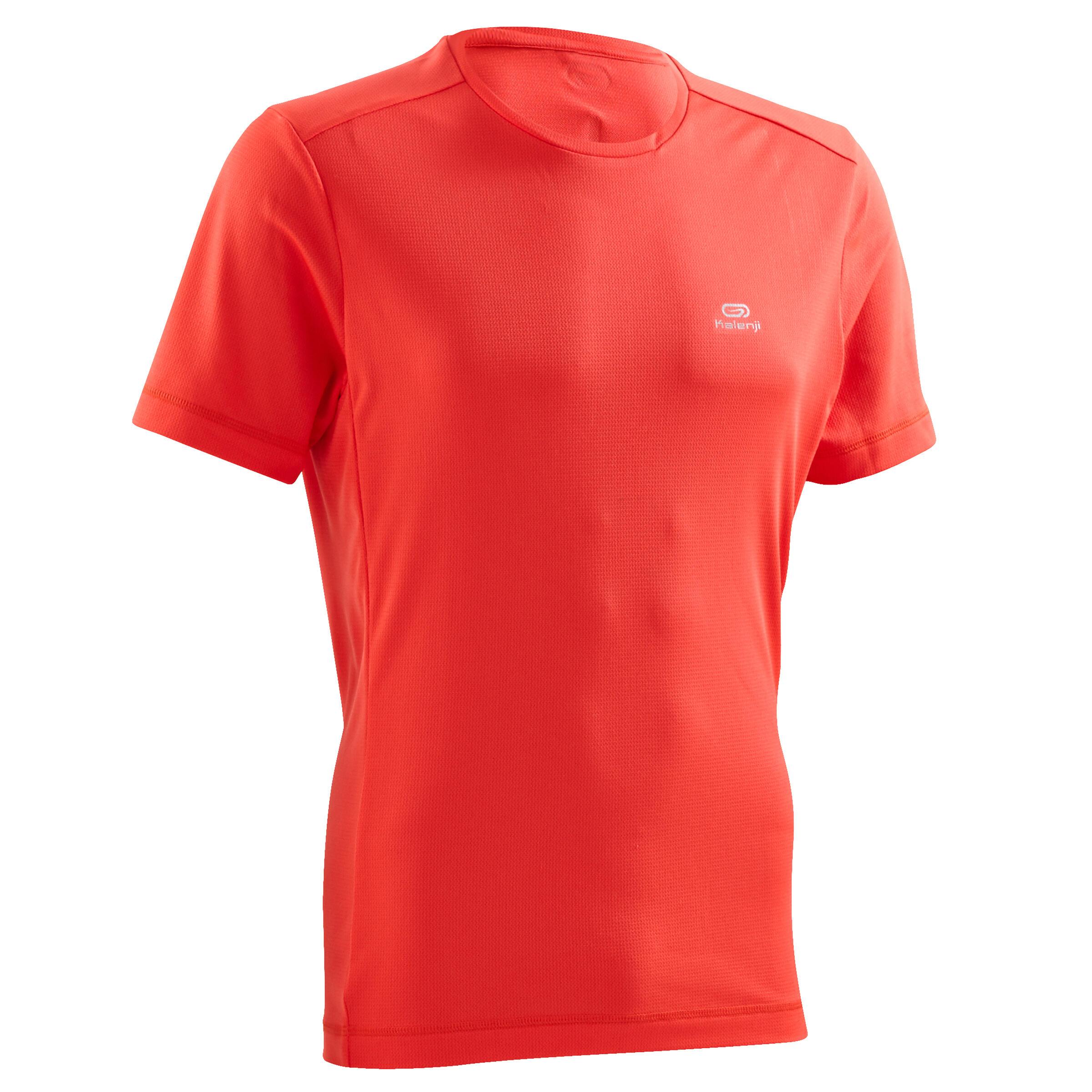 Laufshirt Run Dry Herren rot | Sportbekleidung > Sportshirts > Laufshirts | Rot | Kalenji