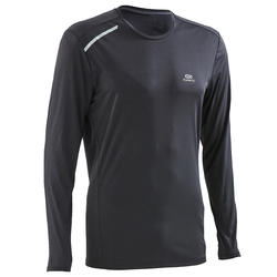 Sun Protect Men's Running T-Shirt - Black