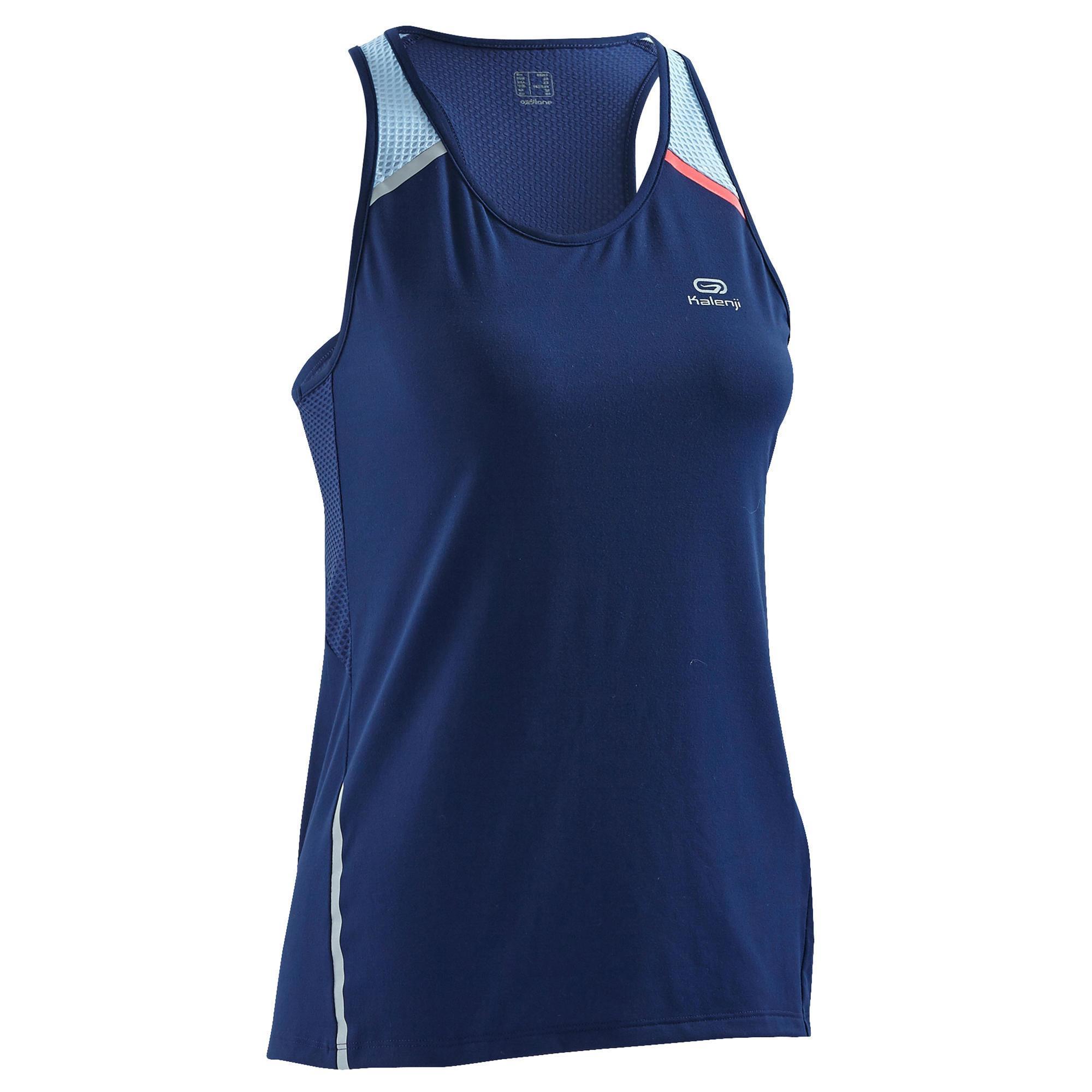 Copaya Damestop hardlopen Run Dry+ marineblauw