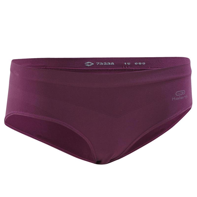 Moteriškos orui laidžios bėgimo trumpikės ‒ tamsiai violetinės