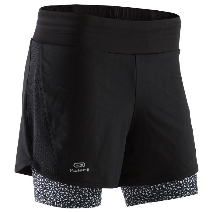 SHORT JOGGING FEMME RUN DRY+ 2 IN 1 - 1259984