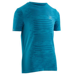 Kiprun Care Children's Athletics T-shirt - Sea Blue
