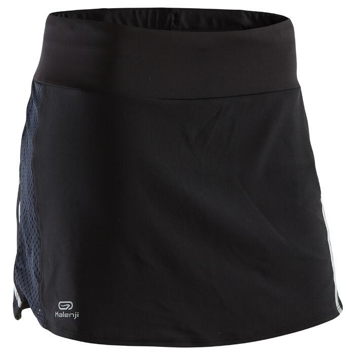 Rokje voor jogging dames Run Dry+ 2 in 1 zwart