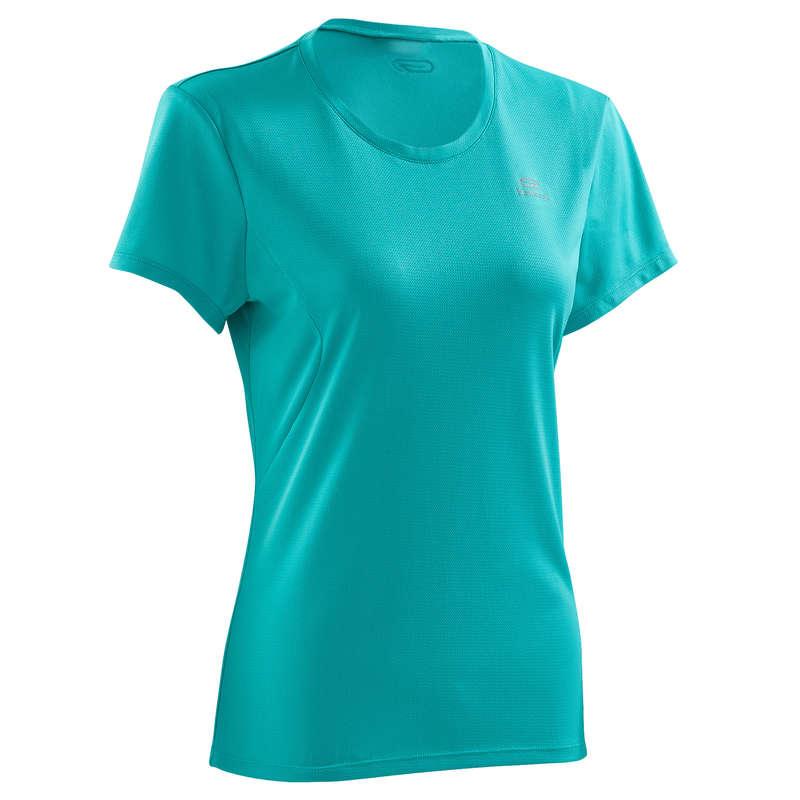 OCCAS WOMAN JOG WARM/MILD WHTR CLOTHES - RUN DRY T-SHIRT KALENJI