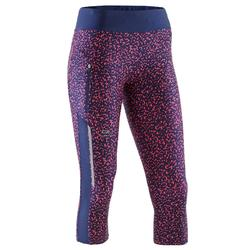 Driekwart joggingbroek voor dames Run Dry+
