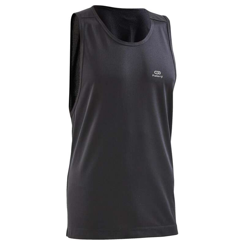 OCCAS MAN JOG WARM/MILD WTHR CLOTHES Clothing - RUN DRY MEN'S TANK TOP KALENJI - Tops