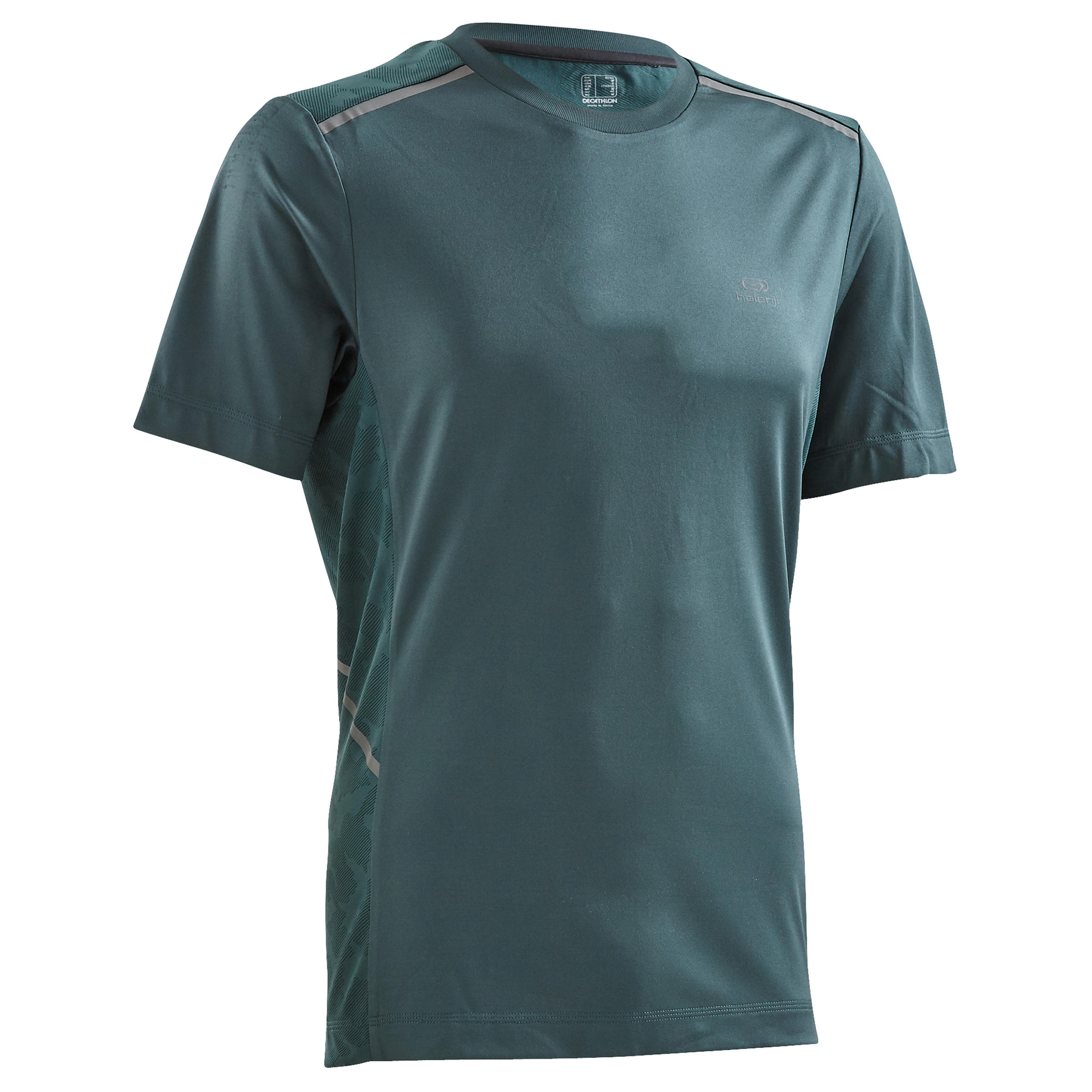 PLAYERA DE RUNNING PARA HOMBRE RUN DRY+ BREATHE VERDE MELEZE