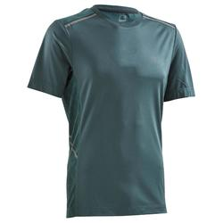 run Dry+ Breathe Men's Running T-shirt - Larch Green