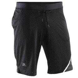 RUN DRY + BREATHE 男士跑步運動快乾短褲 - 黑色