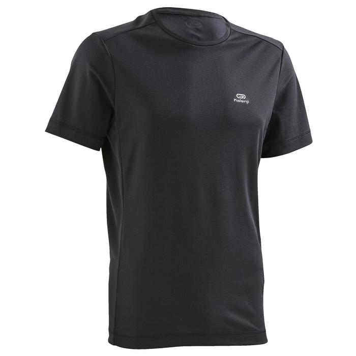 TEE SHIRT RUNNING RUN DRY NOIR HOMME