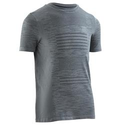 Kiprun Care children's athletics T-shirt - grey