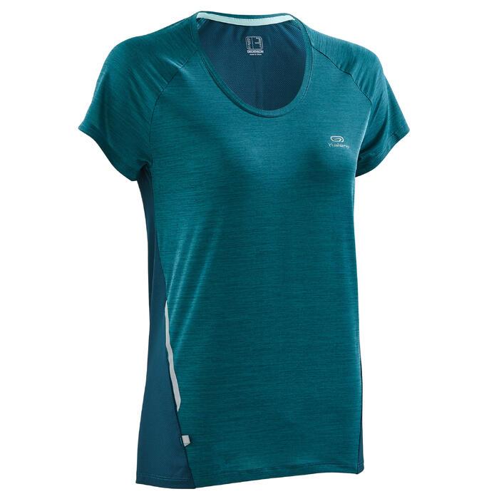 Laufshirt Kurzarm Run Light Damen dunkelgrün