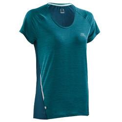 Hardloopshirt Dames Run Light donkergroen