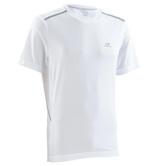 男款跑步透氣T恤RUN DRY+ - 白色