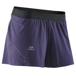 Loopshort dames Kiprun Light Kalenji violet