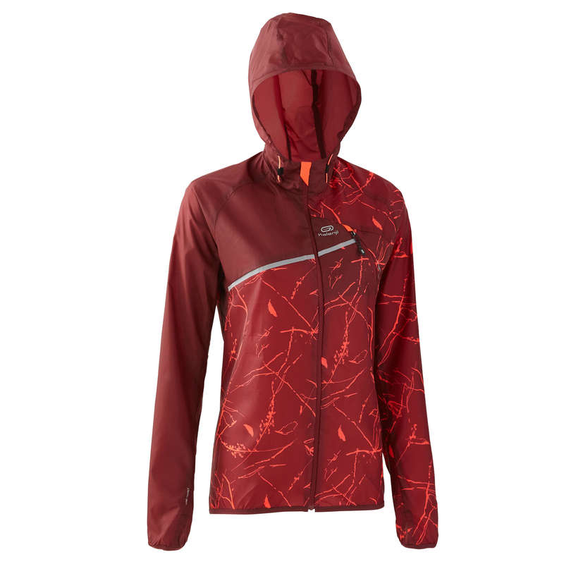 WOMAN TRAIL RUNNING CLOTHES Nordic Walking - TRAIL RUNNING WINDPROOF JACKET EVADICT - Sports