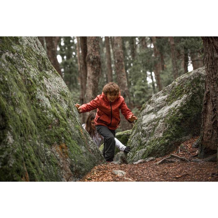 Winterjacke Winterwandern SH100 warm Kinder Jungen 128-164cm grau