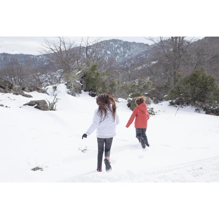 Chaussures de randonnée neige junior SH100 warm lacet mid - 1260188