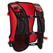 Črn in rdeč nahrbtnik za tek po brezpotjih (10 l)
