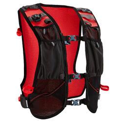 Trailrucksack 10 Liter Running schwarz/rot