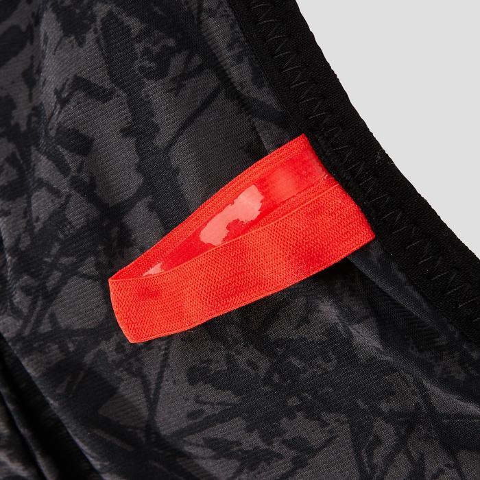 Trailrugzak uniseks 10 liter zwart/rood