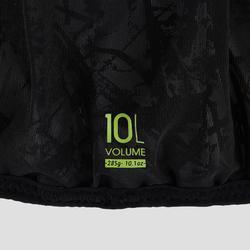10L TRAIL RUNNING BAG UNISEX BLACK AND WHITE