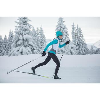 Gilet ski de fond coupe vent femme - 1260451