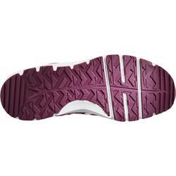 Damessneakers voor sportief wandelen HW 500 mesh paars