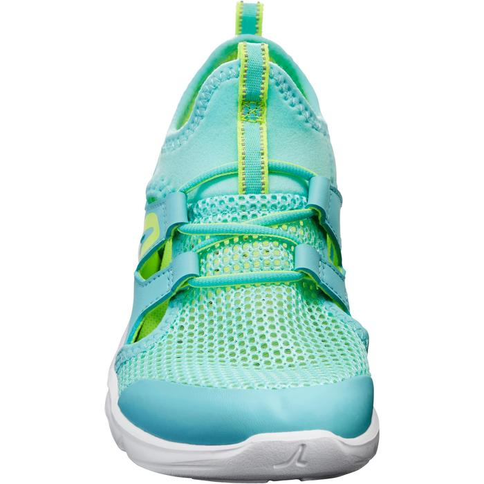 Chaussures marche sportive enfant PW 500 Fresh turquoise