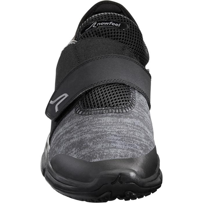 Freizeitschuhe Walking Soft 180 Strap Herren schwarz