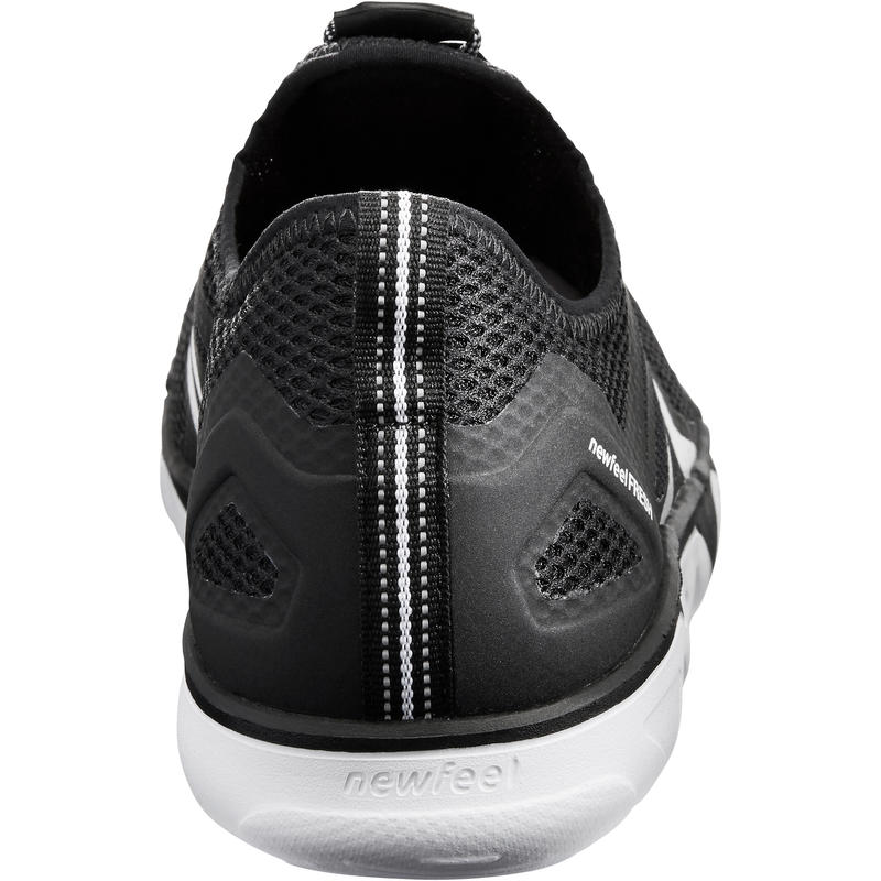 Chaussures marche sportive homme PW 500 Fresh noir