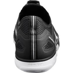 Herensneakers voor sportief wandelen PW 500 Fresh zwart