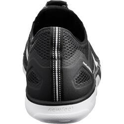 Zapatillas de marcha deportiva para hombre PW 500 Fresh negro