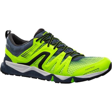 3dedb24f83d Chaussures marche sportive homme PW 900 Propulse Motion jaune fluo ...