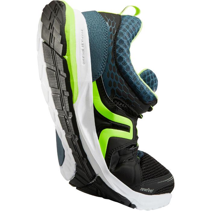 Herensneakers voor sportief wandelen PW 240 zwart / groen