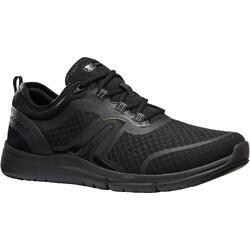 Chaussures marche sportive homme Soft 540 Mesh full noir