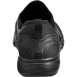 Damessneakers voor sportief wandelen PW 580 WaterResist zwart