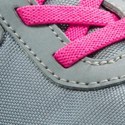 Wandelschoenen voor kinderen PW 100 grijs/roze