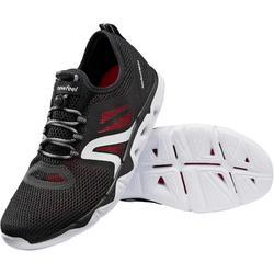 PW 500 Fresh Men's Fitness Walking Shoes - Black