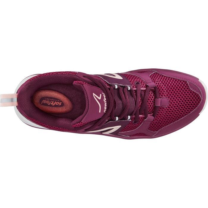 Zapatillas de marcha deportiva para mujer HW 500 Mesh violeta